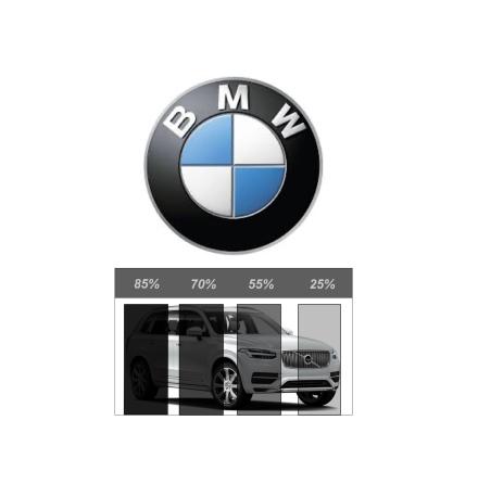 Ferdigskåret avtakbar solfilm - BMW