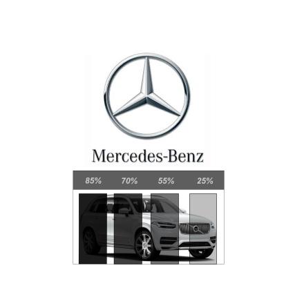 Ferdigskåret avtakbar solfilm - Mercedes-Benz