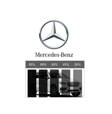 Ferdigskåret profesjonell solfilm - Mercedes-Benz